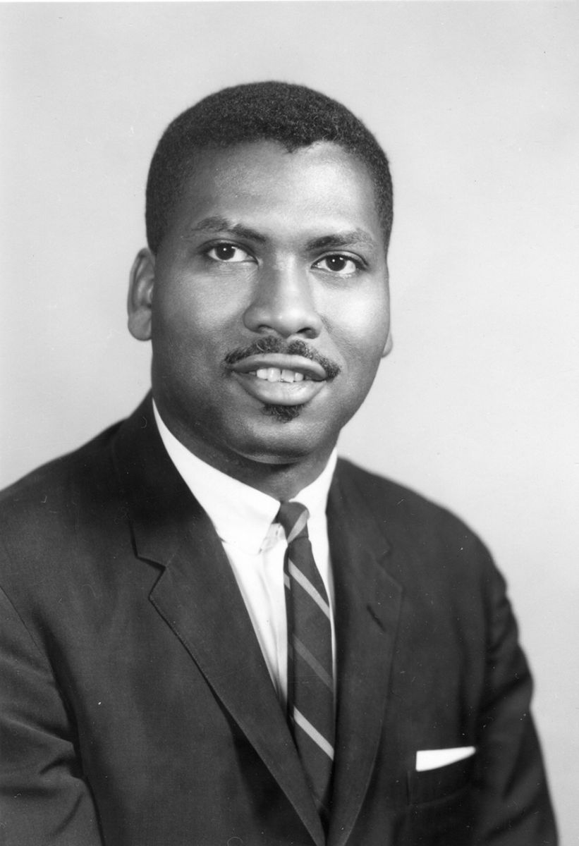Olly Wilson in 1967. Photo courtesy Oberlin College Archives